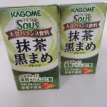 237.カゴメ kagome_大豆バランス飲料ソイズ 抹茶黒まめ(13.12.28 T52C)