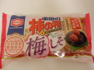 389.亀田製菓_柿の種梅しそ(15.04.04)
