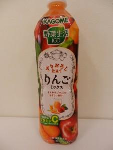 431.カゴメ_野菜生活100すりおろし仕立てりんごミックス(15.06.21)