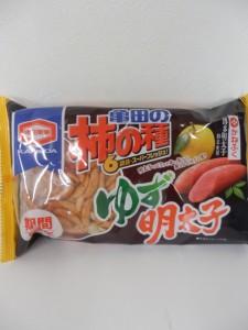 520.亀田製菓_柿の種(ゆず明太子)(16.02.29)
