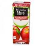 Testing Radiation Resul(Cesium) : Minute Maid-red & green apple juice