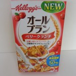 278.Measurement Radiation Result(Cesium) :Kelloggs-allbran(berry crunch)(2014.08 IAFBZ)